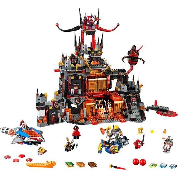 LEGO 樂高 未來騎士團系列 70323 小丑的火山巢穴