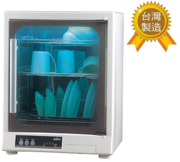 SAMPO 聲寶三層不鏽鋼光觸媒紫外線烘碗機 KB-GD65U