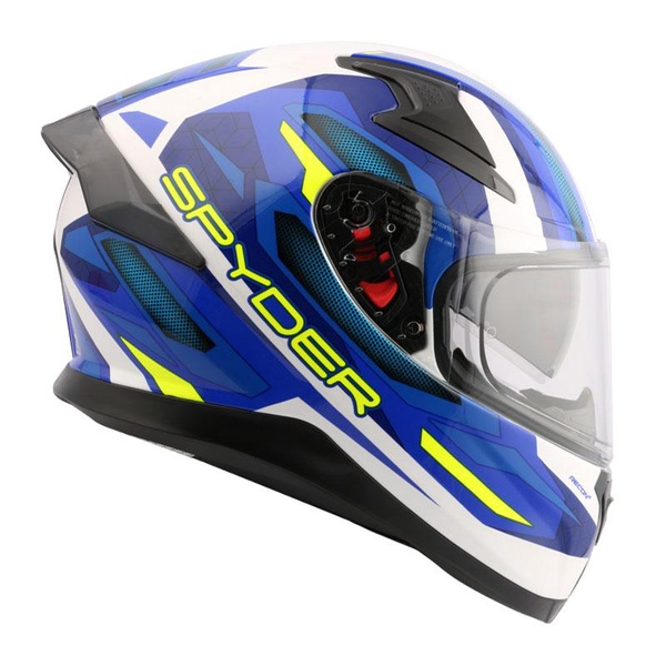 Spyder   Full-face Helmet Dual Visor with Spoiler (RECON 2)