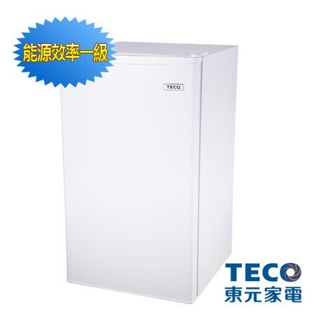 【TECO 東元】99公升單門小冰箱(R1091W)
