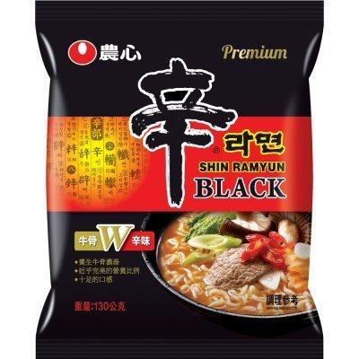 【農心】黑辛拉麵-牛骨拉麵