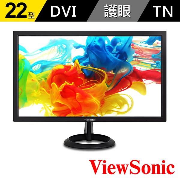 【ViewSonic】VA2261-2 22型 零閃頻抗藍光護眼螢幕