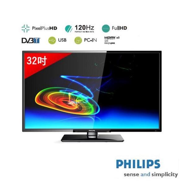 【飛利浦PHILIPS】32吋 LED液晶顯示器(32PHH5210)