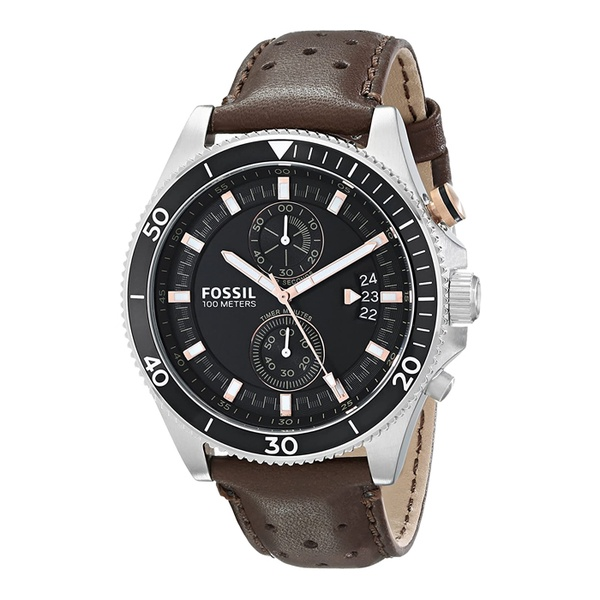 Fossil   CH2944 Leather Men Watch