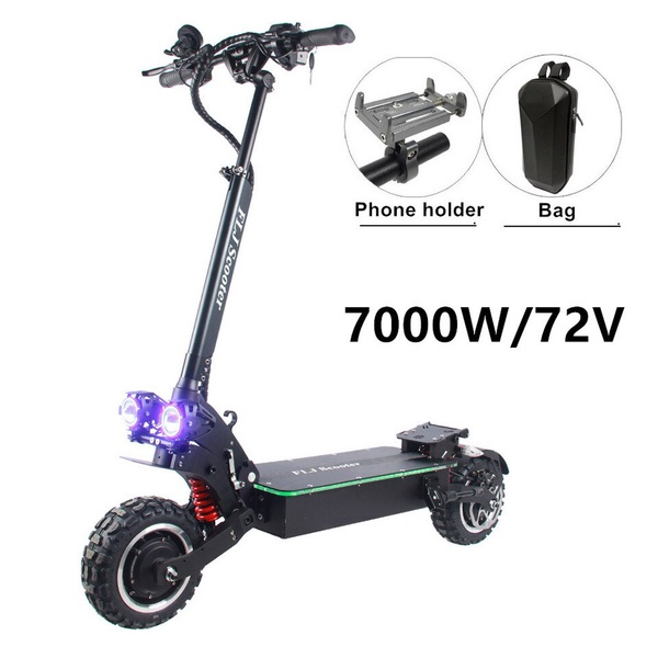 FLJ   Electric Scooter with Dual motors engines 7000w/72v