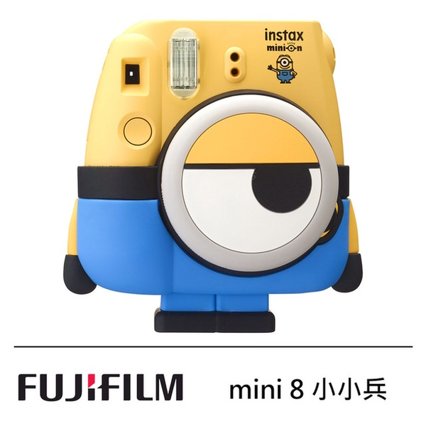 【FUJIFILM 富士】instax mini 8 Minion 小小兵 拍立得相機