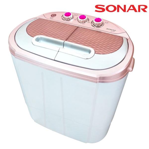 SONAR | เครื่องซักผ้ามินิ แบบ 2 ถัง รุ่น EW-S260