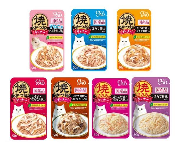 CIAO pouch | อาหารเปียก สำหรับแมว ขนาด 40 g