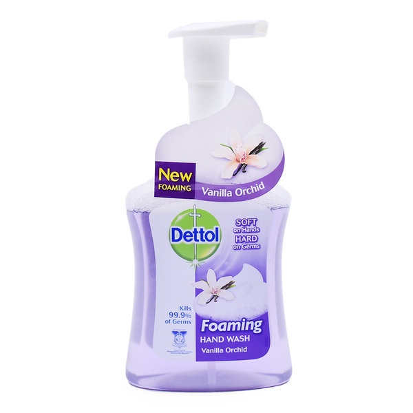 Dettol | Foaming Hand Wash Vanilla Orchid 250ml