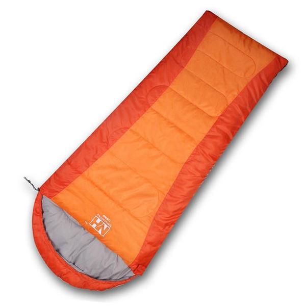 【PUSH! 登山戶外用品】全開式可拼接帶帽四季睡袋