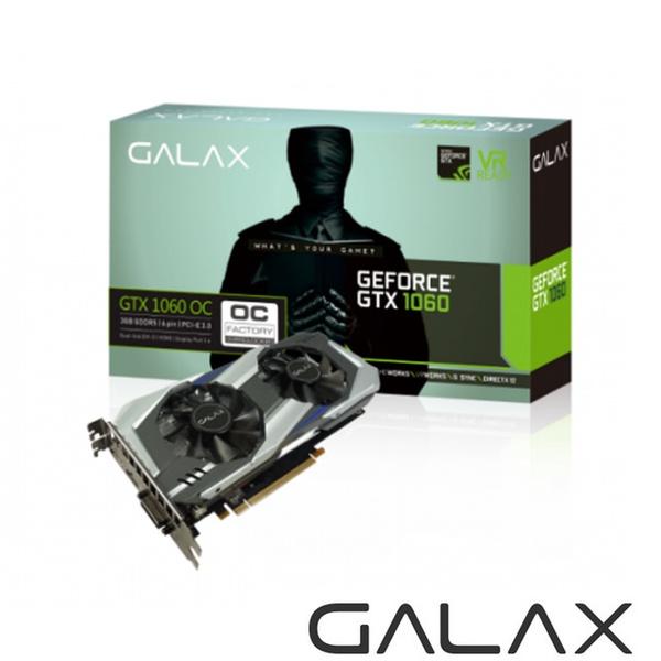 【GALAX】GTX 1060 OC 3GB DDR5 顯示卡