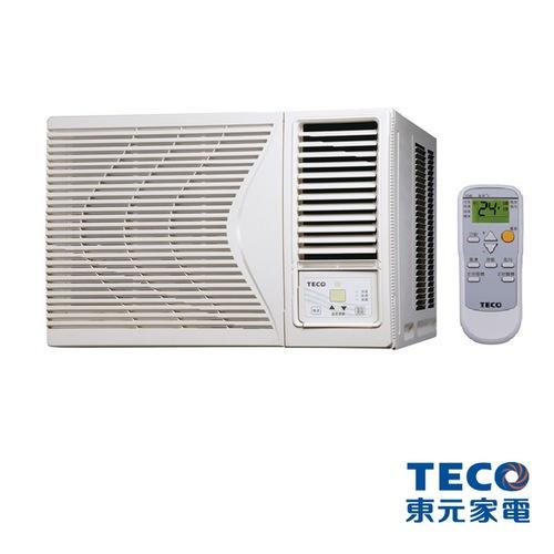 【TECO 東元】7-9坪高能效定頻冷專窗型冷氣(MW36FR1)