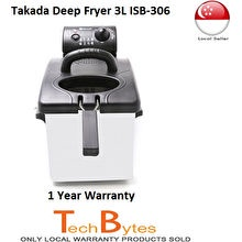 Takada ISB-306 Stainless Steel Deep Fryer