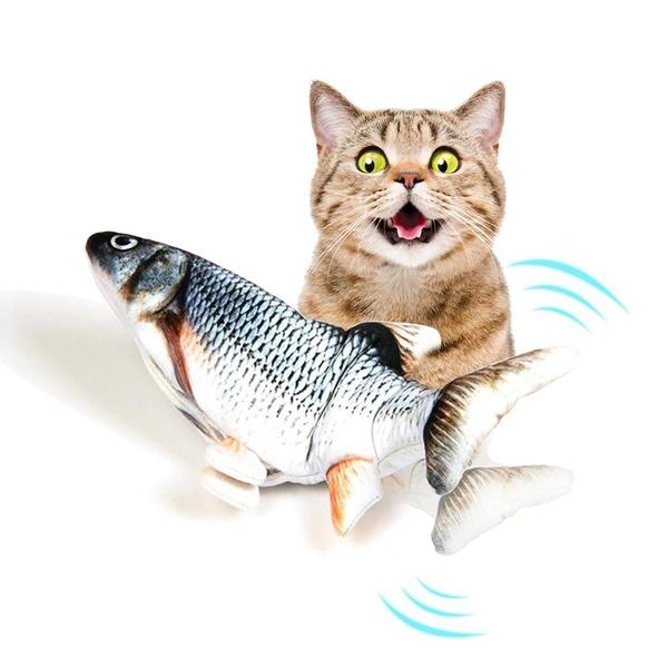 Dancing Fish ปลาดุ๊กดิ๊ก ของเล่นแมว