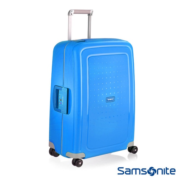 【Samsonite新秀麗】S CURE 四輪PP硬殼TSA扣鎖行李箱(20,25,28,30 吋)