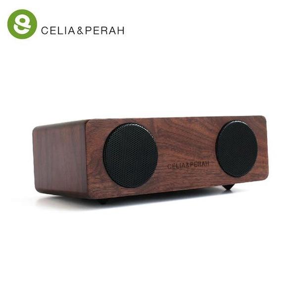 【CELIA&PERAH】M2 無線藍牙高傳真實木音響