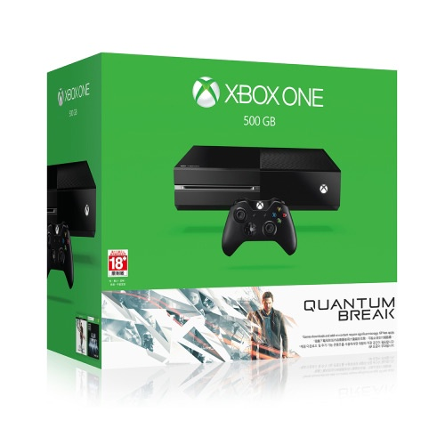 Xbox One 單機版 量子裂痕 雪白同捆組