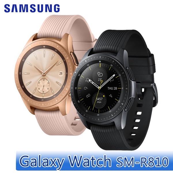 【SAMSUNG 三星】Galaxy Watch 42mm 智慧型手錶(SM-R810)