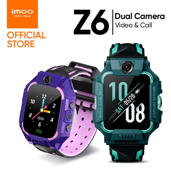 imoo | นาฬิกาอัจฉริยะสำหรับเด็ก Watch phone รุ่น Z6