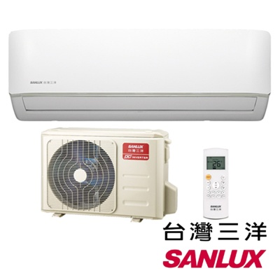 【SANLUX 台灣三洋】5-7坪變頻冷暖分離式冷氣(SAC-V36HF+SAE-V36HF)