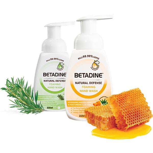 Betadine | โฟมอนามัยล้างมือ hand wash