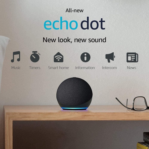 Amazon|Echo Dot 4th 智能揚聲器