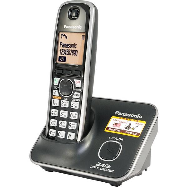 【Panasonic國際牌 2.4G 大字體 / 斷電可用】數位高頻無線電話KX-TG3711