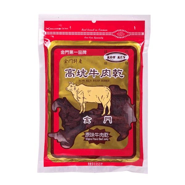 【金門高坑】牛肉乾 原味 180g