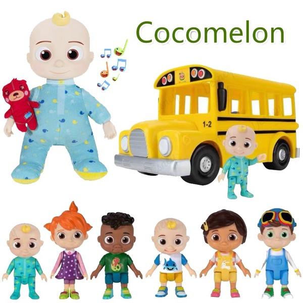 Cocomelon | JJ Plush Toy (School bus set)