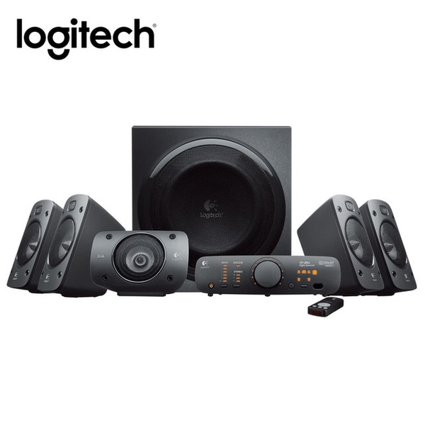 【Logitech 羅技】Z906 環繞音效音箱系統
