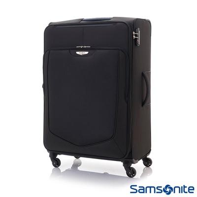 【Samsonite新秀麗】Emper簡約可擴充TSA布面行李箱(28吋/24吋)