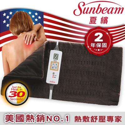 【美國Sunbeam夏繽】瞬熱保暖墊