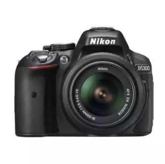 NIKON D5300 BK W/18-55 VR KIT