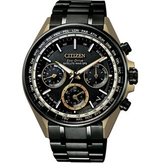 CITIZEN星辰 GPS衛星對時鈦金屬手錶 CC4004-66E
