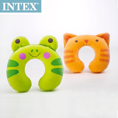 【INTEX】充氣護頸枕-動物造型