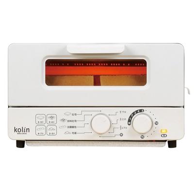 【Kolin 歌林】10公升雙旋鈕蒸氣烤箱
