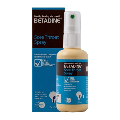 Betadine | Throat Spray (50ml)