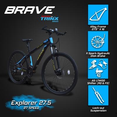 Trinx | BRAVE EXPLORER 27.5 Hydraulic Alloy MTB