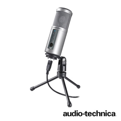 【鐵三角 audio-technica】ATR2500-USB 心型指向性電容式USB麥克風