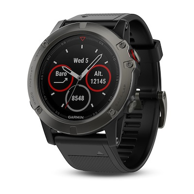 Garmin Fenix 5S Sapphire GPS Watch (Black 42 mm Diameter)