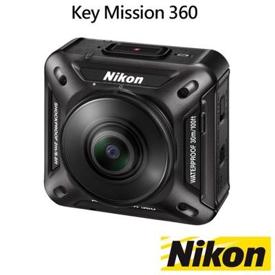 【NIKON 尼康】KeyMission 360 運動防水攝影機