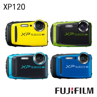 【FUJIFILM 富士】FinePix XP120 防水相機