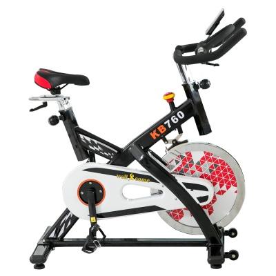 【Well-Come 好吉康】KB-760 雙向皮帶傳動 18KG飛輪競速車/健身車 中置飛輪 X型骨架更穩固