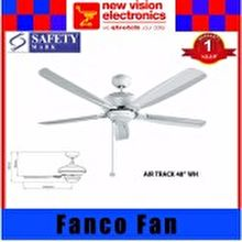Fanco Ceiling Fan Titanium Series Air Track 48 inch