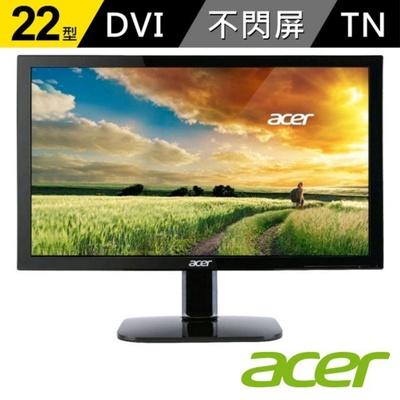 【acer】KA220HQ 22型 FullHD 不閃屏 濾藍光 螢幕
