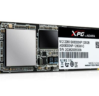 【ADATA 威剛】SSD XPG SX8000 256G M.2 2280 PCIe