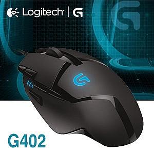 羅技Logitech G402 高速追蹤遊戲滑鼠