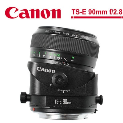 Canon 佳能TS-E 90mm f/2.8 移軸鏡頭