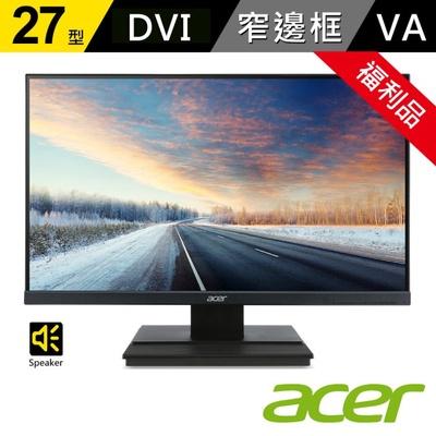 【ACER 宏碁】V276HL C 27型VA不閃頻濾藍光 窄邊框螢幕