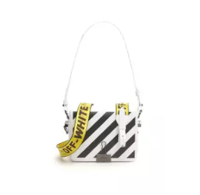 OFF-WHITE | กระเป๋าสะพาย Off-white Diag Square Bag With Binder Clip